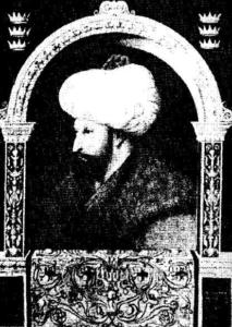 Портрет на Мехмед II Фатих от Джентиле Белини, XV в.